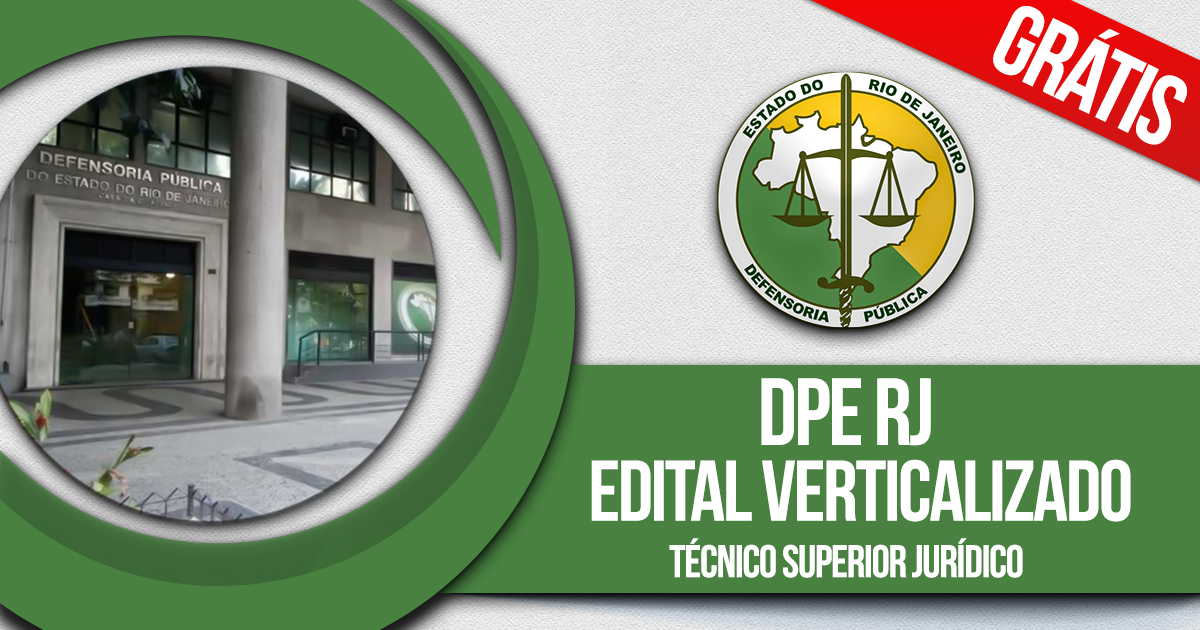DPE RJ: Técnico Superior Jurídico