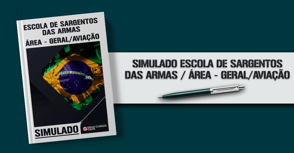 Simulado ESA 2019: área geral