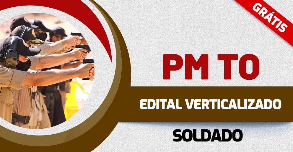 Edital Verticalizado da PM TO