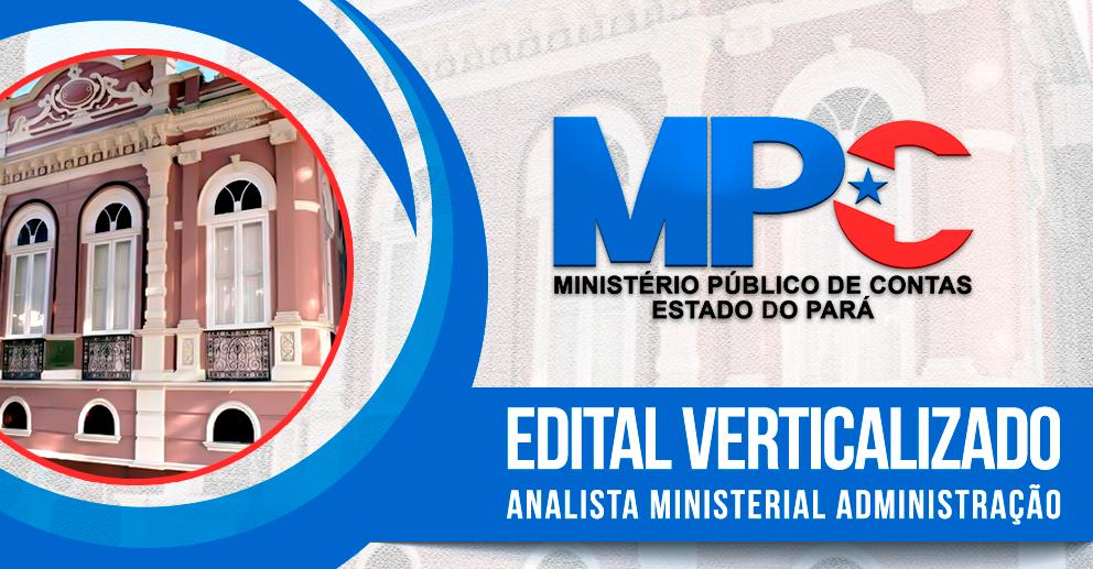MPC/PA - Analista Min. - Administração