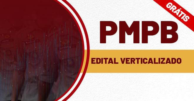 Edital Verticalizado PM PB