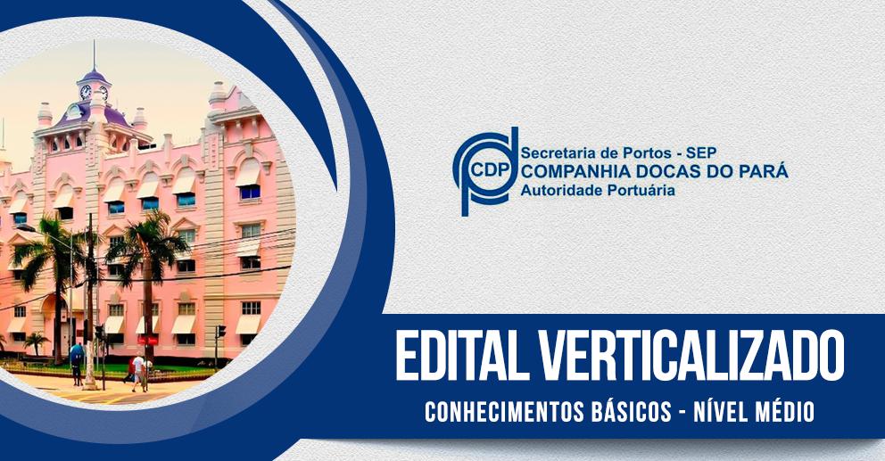 Edital verticalizado: Nível Médio