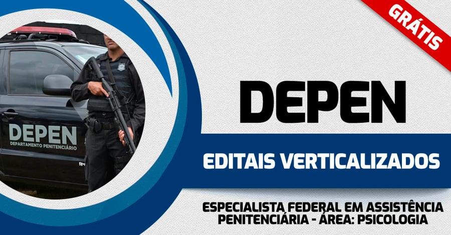 DEPEN-EDITAIS-VERTICALIZADOS-ESPECIALISTA-EM-ASS-PENITENCIARIA-PSICOLOGIA