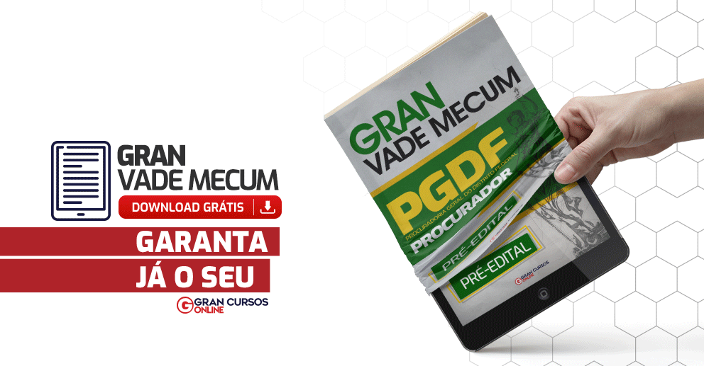 Gran-Vade-Mecum-PGDF-Procurador-Pre-Edital
