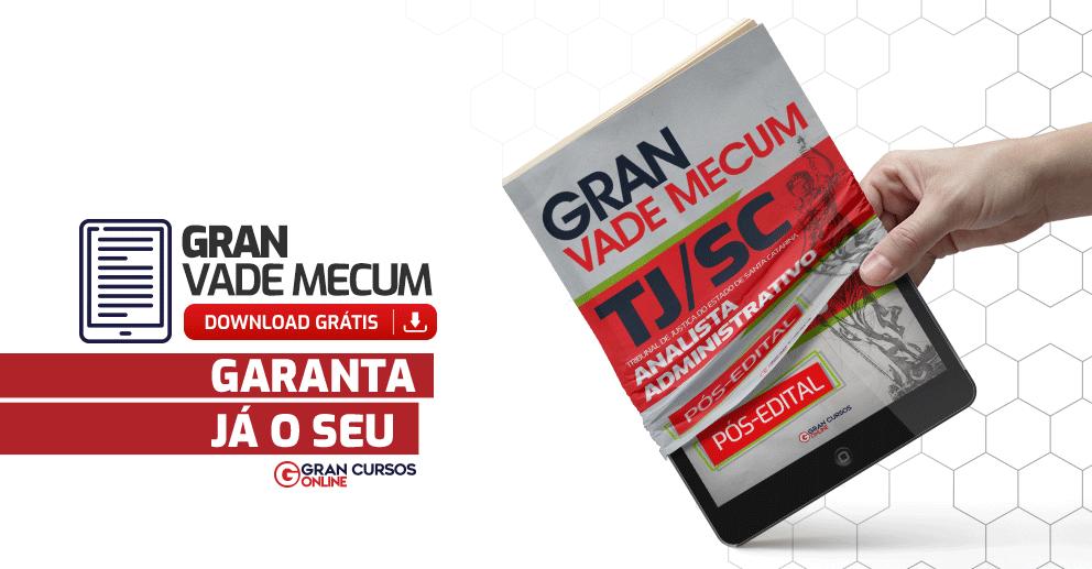 Gran-Vade-Mecum-TJ-SC-Analista-Administrativo-Pos-edital