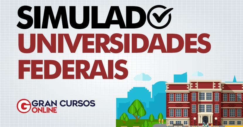 Simulado: Universidades Federais