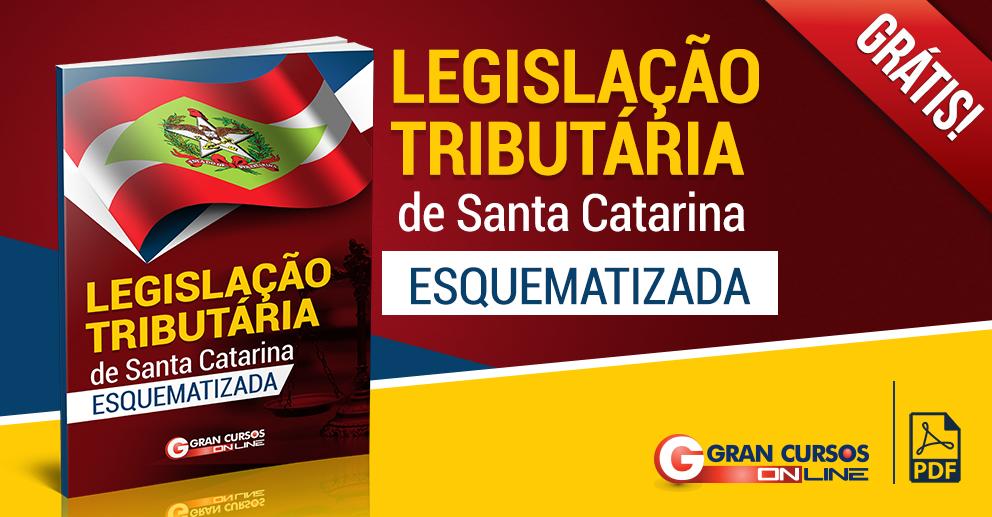 E-book: Legislação Tributária de SC