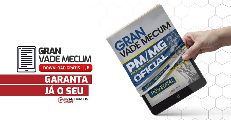 Gran Vade Mecum - PM/MG - Oficial