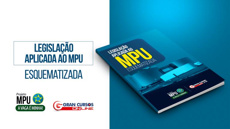 Apostila gratuita para Edital MPU