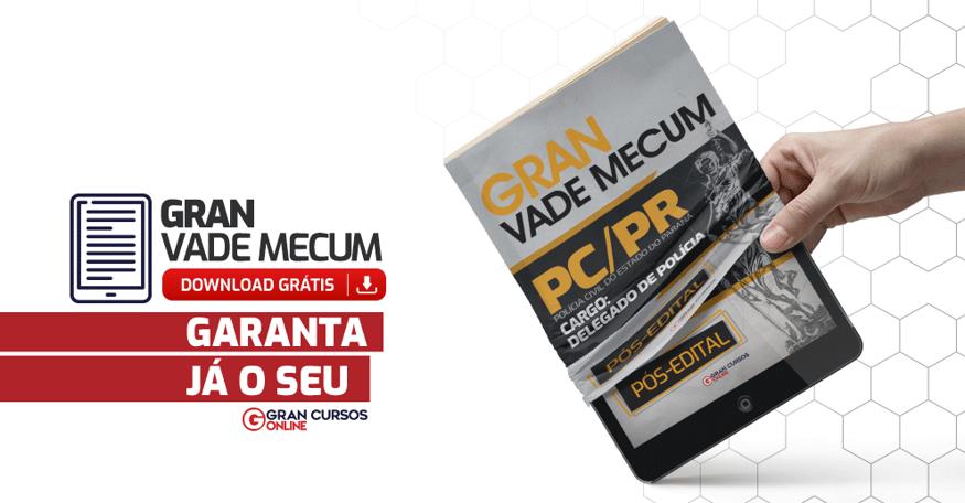 PCPR-Gran-Vade-Mecum-Delegado-Pos-Edital