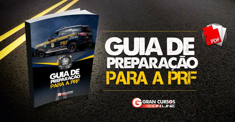 E-book gratuito - Guia de preparação PRF