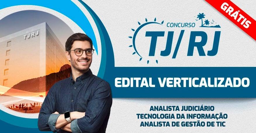 TJRJ - EDITAL VERTICALIZADO Analista de Gestão de TIC