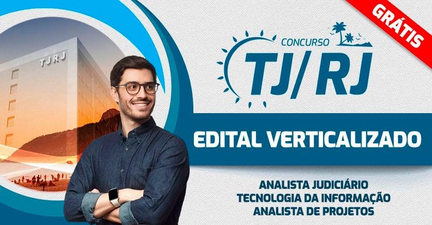 TJRJ - EDITAL VERTICALIZADO Analista de Projetos
