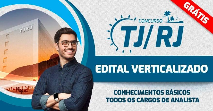 TJRJ - EDITAL VERTICALIZADO Conhecimentos Básicos (analistas)