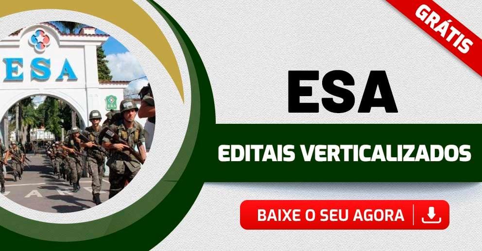 Edital Verticalizado – ESA