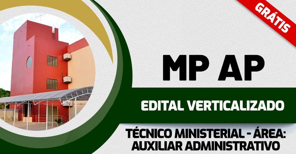 Edital Verticalizado - MP AP Técnico Ministerial