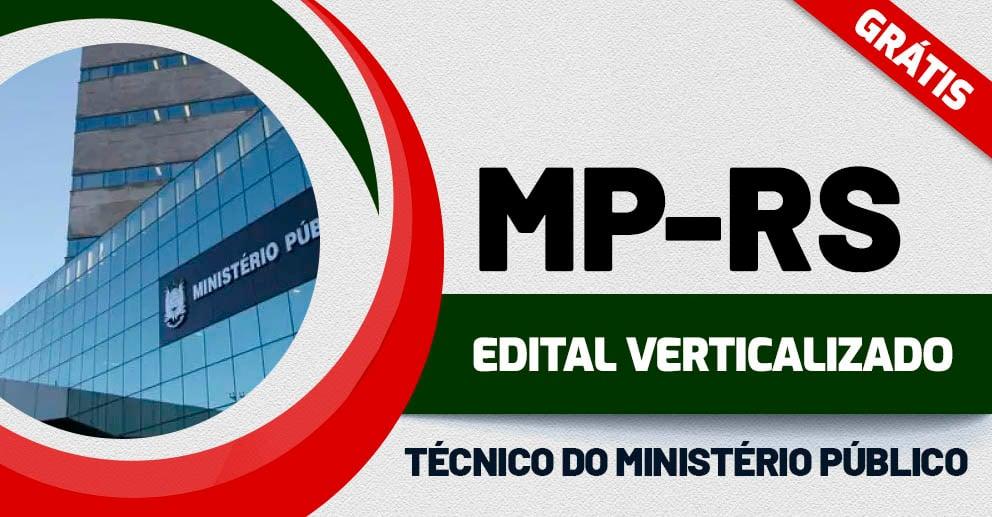Edital Verticalizado - MP RS