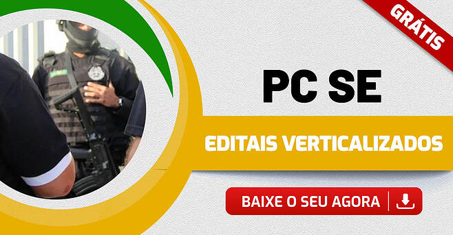 Edital Verticalizado PC SE