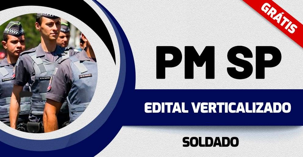 Verticalizado – PM SP Soldado