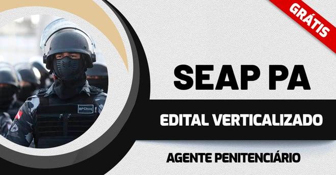 Edital Verticalizado SEAP PA