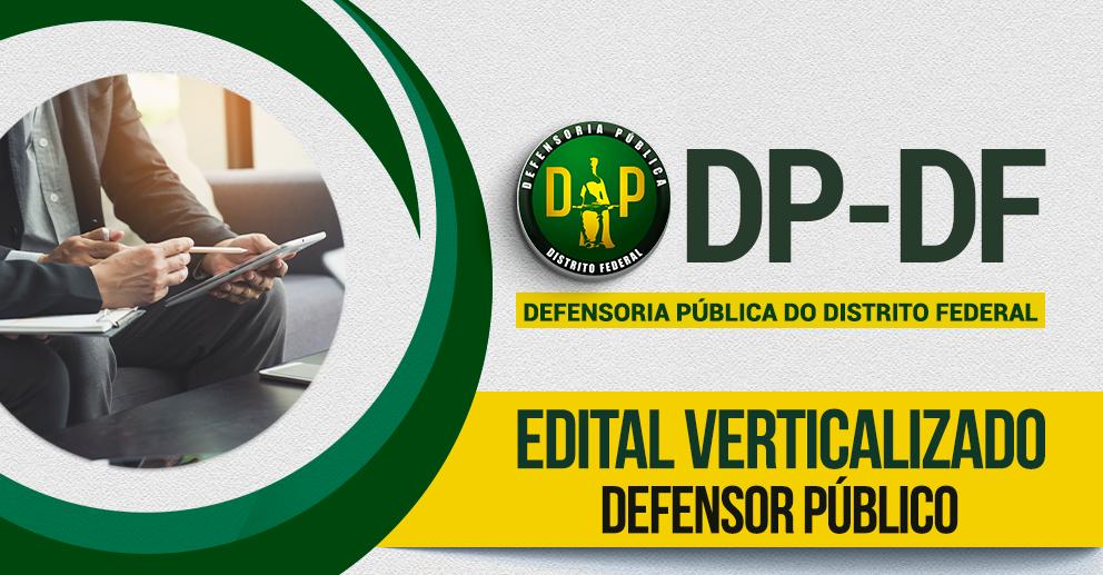 Verticalizado: DP-DF - Defensor Público