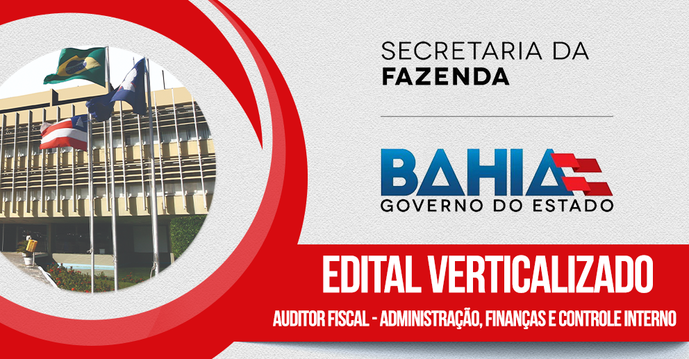 Verticalizado: SEFAZ/BA - Administração, finanças e controle interno