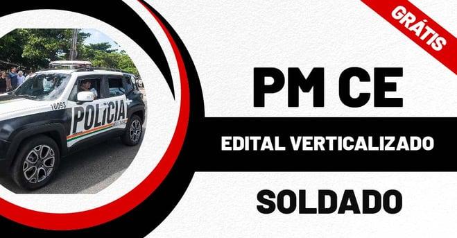 Edital Verticalizado Soldado PMCE