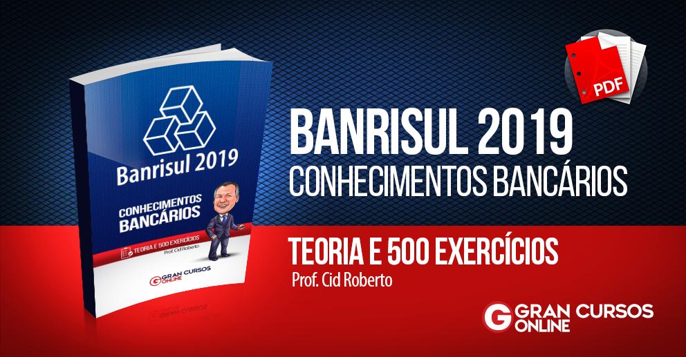Simulado Banrisul 2019