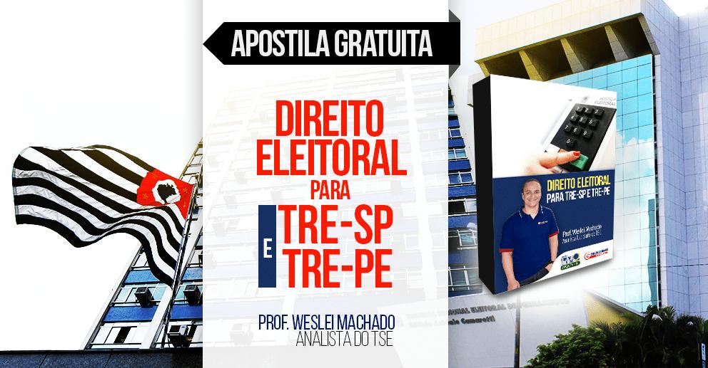 Apostila Direito Eleitoral para TRE-SP e TRE-PE