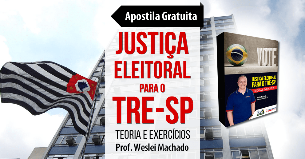 Apostila TRE-SP - Justiça Eleitoral