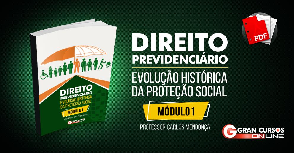 Concurso INSS - Direito Previdenciário