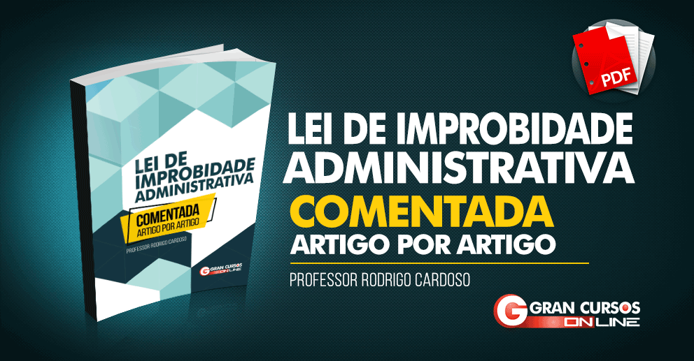 E-book Lei de Improbidade Administrativa