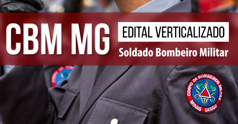 Edital verticalizado CBM-MG