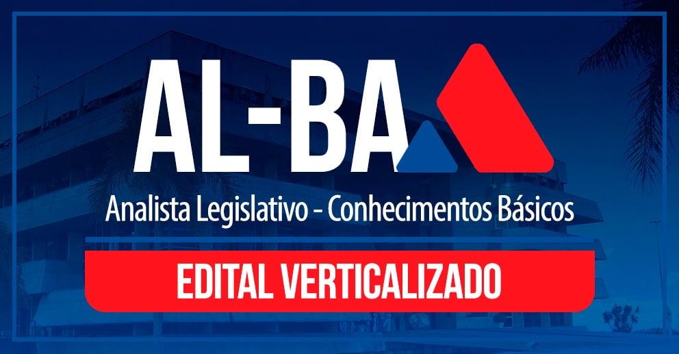 Edital verticalizado - ALBA