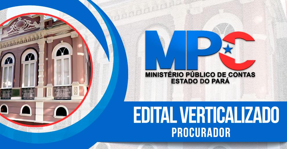 Edital verticalizado: procurador