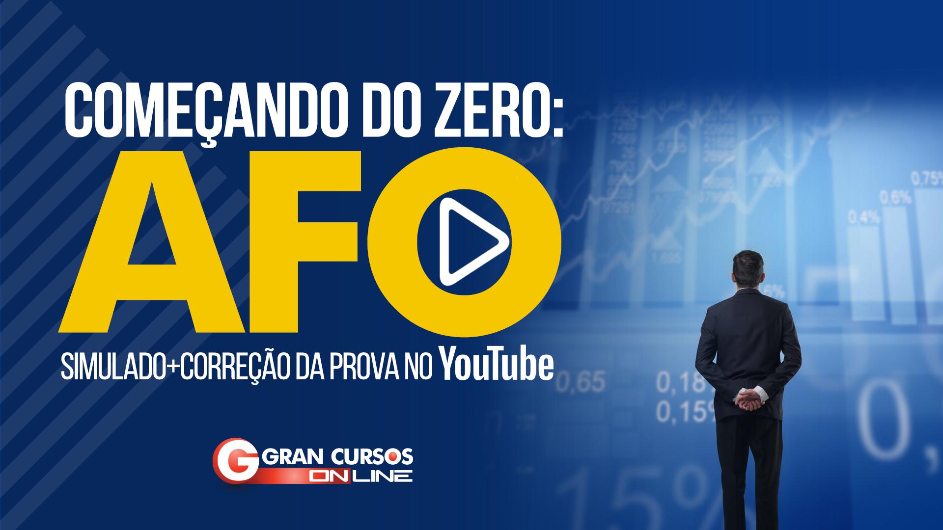 Simulado   AFO - Começando do Zero